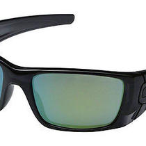 New Oakley Fuel Cell Sunglasses Polished Black Ink/emerald Iridium Photo