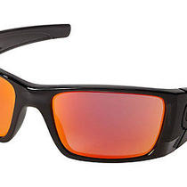 New Oakley Fuel Cell Sunglasses Polished Black Ink/ruby Iridium Photo