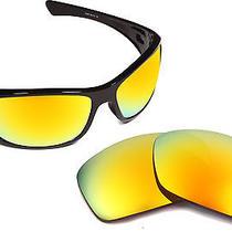 New Oakley Hijinx Polarized Radiant Yellow Mirror Replacement Seek Lenses Photo