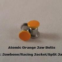 New Oakley Jawbone/racing Jacket Atomic Orange Thru Bolts Authentic Oakley Photo