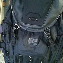 New Oakley Kitchen Sink Backpack Stealth Black New Without Tags. Photo