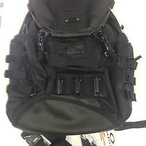 New Oakley Kitchen Sink Backpack Stealth Black Tactical Laptop Pack Metal Photo