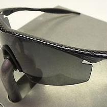 New Oakley M Frame Strike Sunglasses Carbon Fiber Dark Gray Iridium Polarized Photo
