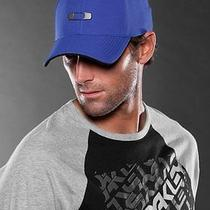 New Oakley Metal Gas Can Gascan Hat Cap Golf Royal Blue Flexfit L/xl (59-61 Cm) Photo