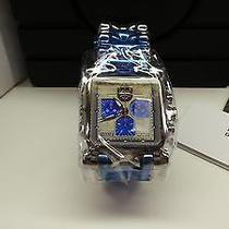 New Oakley Minute Machine Polished Blue & Silver Dial Face Watch 13  Photo