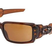 New Oakley Oil Drum Sunglasses Polished Rootbeer/dark Bronze Photo