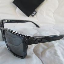New Oakley Sunglasses Holbrook Lx Dark Grey Tortoise W/black Iridium Oo2048-02 Photo