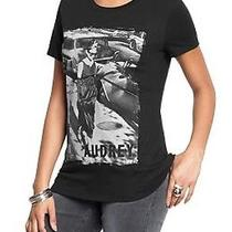 New Old Navy Women's Audrey Hepburn Breakfast at Tiffany's Graphic Tee Xl Photo