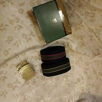 New Old Stock 1986 80s Avon Mens Adjustable Belts Blue Green With Buckle Photo