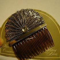 New--Old Vintage--Rare Rare Whiting and Davis Hair Comb Photo