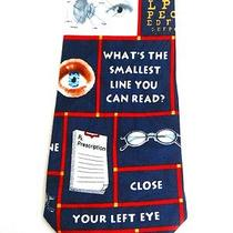New Optometrist Eye Chart Eye Ball Doctor Glasses Necktie Neck Tie Steven Harris Photo