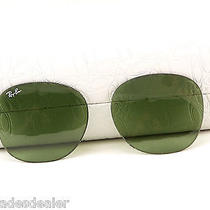 New Original Ray Ban Rb4168 50mm Lenses for Meteor Sunglasses Glass Gray Green Photo