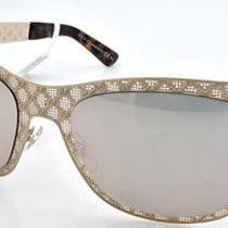 New Original Sunglasses Gucci Gg4266/s Ddb0j Unisex Gold Square Gold Mirrored Photo