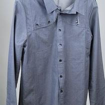 New Orthodox Parker L/s Mens Casual Shirt Stone Gray S Photo