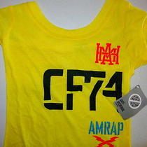 New Other Reebok T-Shirt Xs Crossfit Womens Yellow Photo