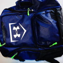 New Other Under Armour Storm Back Pack Navy Baseball Photo