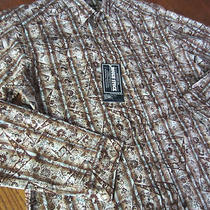 New Panhandle Slim Mens Sawtooth Pearl Snap Western Shirt Vtg Retro Brooks Dunn Photo