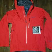 New- Patagonia Calcite - Size Xs - Red Gore-Tex Mens Hood Ski Jacket  249 Msrp Photo