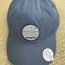 New Patagonia Low Crown Tide Ride Hat Cap Adjustable Dolomite Blue Photo