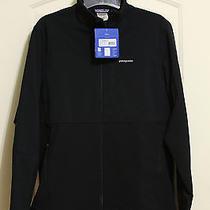 New Patagonia Men's Integral Soft-Shell Jacket Windproof Full Stretch Medium Blk Photo