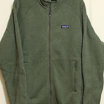 New Patagonia Mens Better Sweater Jacket Seaweed Green Medium Photo