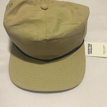 New Patagonia Waverer Snapback Hat Cap El Cap Khaki Photo