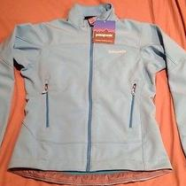 New Patagonia Womens Sky Blue Adze Softshell Jacket - Size S - Fast Shipping Photo