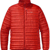 New Patgonia Ultralight Down Jacket Paintbrush Red Xl Nwt 279 Photo