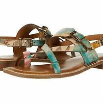 New Patricia Nash Women Fidella First Bloom Split Round Toe Slide Sandals 6 M Photo
