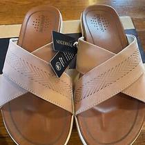 New Pendleton Womens Gulf Shore Total Tuscany Size 10 Blush Pink Sandals Slide Photo