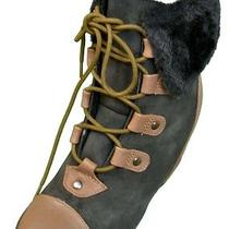 New Penny Sue Camilla Hidden Wedge Womens Boots Black Size 9.5 Photo