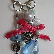 New Pink Ribbon Blue Jewel 4