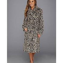 New Pj Salvage Leopard Print Polyester Microfiber Robe Size Small  Photo