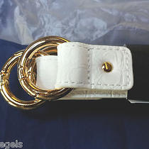 New Pkg Miche Bag Pair White Croc Handles Inc  Gold Rings  4 Demi Classic Prima  Photo