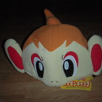 New Pokemon Chimchar Monkey Costume Plush Hat Cosplay Fancy Dress Halloween Photo