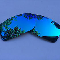 New Polarized Ice Blue Iridium Replacement Sunglasses Lenses for Oakley Gascan Photo