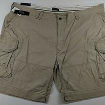 New Polo Ralph Lauren 54 Big Hudson Tan Cargo Shorts Polo Chino 54b 89 Photo