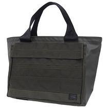 New Porter Prism Tote Bag L Black Silver Yoshida Kaban 714-09605 Ems F/s Japan Photo