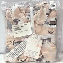 New Pottery Barn Kids Winter Reindeer Flannel Nightgown Pajamassize 8blush Photo