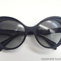 New  Prada Black  Sunglasses Photo