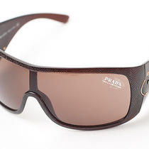 New  Prada  Brown Sunglasses  Photo