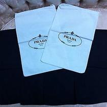 New Prada Shoe Bag. Lot of 6 Photo