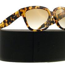 New Prada Sunglasses Spr 07p Havana 7s09s1  56mm Photo