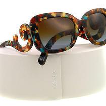 New Prada Sunglasses Spr 27o Havana Nag-0a4 Pr27os 54mm Photo