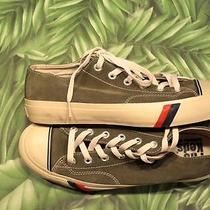 New Pro Keds Logo Green Suede Low Top Sneakers Mens 9 Medium Photo