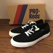 New Pro Keds Women's Padded Canvas Long Wear Comfort Shoe Sneaker Black Sz 9 Photo