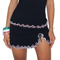 New Profile by Gottex Party Time Side Tie Skirt Hipster Bottom 10 503-1p92 Photo
