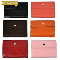 New Pu Leather Business Id Name Credit Card Purse Wallet Bags Case Pouch 6 8t5 Photo