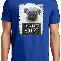 New Pug Thug Life Mug Shot Photo T-Shirt Photo