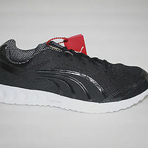 New Puma Bolt Faas 400 Mens Black White Running Shoe Sneaker Size 11 Eur 44.5 Photo